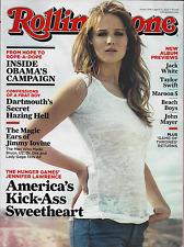 Rolling Stone Magazine Jennifer Lawrence Barack Obama Jimmy Iovine Frat Hazing