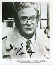 Michael Caine Jsa Coa Hand Signed Authentic 8x10 Photo Autograph