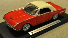 Welly's 1962 Ford Thunderbird Sports Roadster - NIB - Red w/White Top