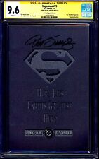 Superman #75 Poly-Bagged Edition CGC SS 9.6 signed Dan Jurgens NM+ DEATH ISSUE