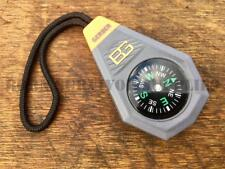 Bear Grylls Compact Compass - Gerber Pocket Survival Emergency EDC Keyring Gift