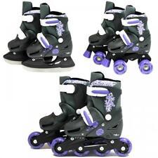 Rollers et patins violet