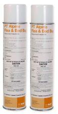 Alpine Flea & Bed Bug Spray Insecticide Aerosol with Igr 20 oz. (2 Cans) Basf