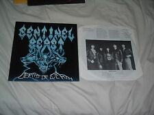SENTINEL BEAST Depths Of Death '86 RARE THRASH/power ex-FLOTSAM JETSAM IMPORT