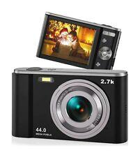 44MP Small Digital Camera Beginners 2.7K Vlogging 2.88