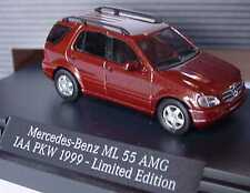 1:87 Mercedes-Benz ML 55 AMG rosse-marroni Limited Edition AIA 1999-Dealer-Edition