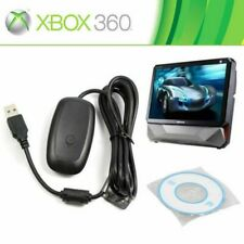 USB Wireless Receiver Game Controller Adapter for Windows PC Microsoft Xbox 360