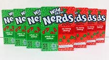 Wonka Nerds Wild Cherry and Watermelon 7 Packs FREE SHIPPING
