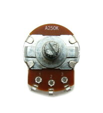 A250K ohm Guitar Pot 24mm Dia / 18mm Shaft - Audio Volume Potentiometer