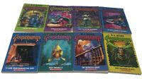 Lot of 8 Goosebumps Books R.L. Stine Used Soft Back