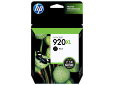 HP #920XL Black Ink Cartridge CD975AN GENUINE NEW
