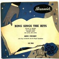 "Bing Crosby - Bing Sings The Hits - 7"" Record Single"