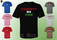 Christmas Shirts Santa Claus Tee Ugly Christmas Unisex T-Shirt (b10)