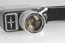 Cinemax 8III E Compactzoom #519588 Doppel8 Filmkamera mit 1.8/12-30mm zoomoptik