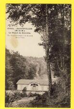 cpa FRANCE Old Postcard BADONVILLER STAND de TIR Forêt de BRICOTTE Shooting rang