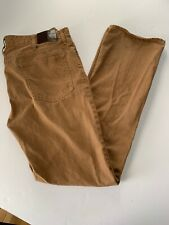 Stafford Prep Jeans 36 X 34 Copper Colored