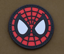 "PVC / Rubber Patch ""Spiderman"" with VELCRO® brand hook"