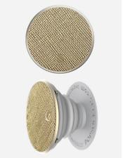 PopSockets - Finger Grip/Kickstand for Mobile Phones - Color: Saffiano Gold
