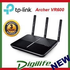 TP-Link Archer VR600 AC1600 Wireless Gigabit VDSL/ADSL Modem Router NBN Ready