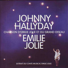 CD Single Johnny HALLYDAY Chanson d'Emilie Jolie 9838216 1-track NEUF