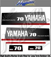 YAMAHA - 70hp - PRECISION BLEND - OUTBOARD DECALS
