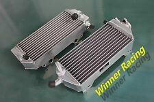 40MM BRACED ALUMINUM RADIATOR FOR SUZUKI RM125 RM 125 2001-2008 Left+Right