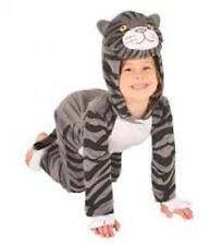 Disfraz De Gato Mog el derecho 3,4,5 años para el libro semana, Halloween, o jugar