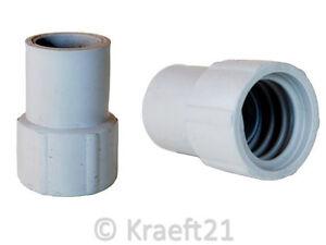 Aufschraubbare Muffe für Ablaufschlauch für Waschmaschinen & Spülmaschinen