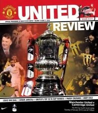 2014/15 - MAN UTD v CAMBRIDGE UNITED (FA CUP ROUND 4  REPLAY- February 3rd 2015)