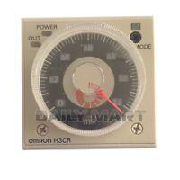 OMRON NEW H3CR-A8 H3CRA8 100-240VAC 100-125VDC INPUT TIMER RELAY, FREE SHIP