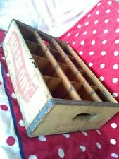 Vintage OLD COLONY ORANGE CRUSH BOTTLING COMPANY WOOD CRATE