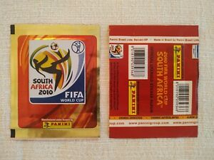 Panini World Cup 2010 Brazil  Gold Version with red back  Packet Bustina sealed