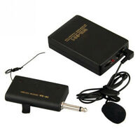 lavalier revers clip mhk - system fm - sender - empfänger drahtloses mikrofon