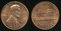 United States, 1972 One Cent, 1c, Lincoln Memorial - Uncirculated