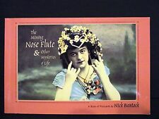 NICK BANTOCK THE MISSING NOSE FLUTE & OTHER MYSTERIES OF LIFE  BOOK OF POSTCARDS