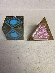 Galaxy's Edge Star Wars Electronic Holocrons - Jedi Cube, Sith Pyramid