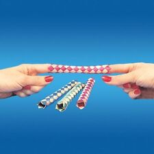 FINGER TRAP X 24 PCS GAG JOKE NOVELTY PUZZLE TRICK MAGIC TOY GAME KIDS PARTY BAG