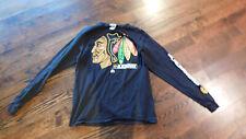 Chicago Blackhawks Men's Majestic Long Sleeve Shirt • Size M