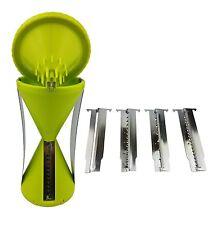 Spiralschneider mit 4 Klingen Gemüseschneider Veggie Twister Gemüse Schäler NEU
