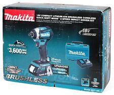 *NEW* Makita XDT14R 18V LXT Brushless Cordless 3‑Speed Impact Driver Kit (2.0Ah)