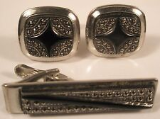 Spanish Cuff Links & Tie Bar Set gift