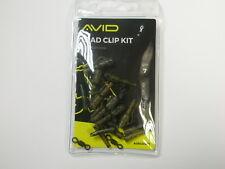 Avid Outline Lead Clip Kit 7pk Carp fishing tackle