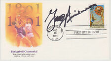 SIGNED UCONN COACH GINO AURIEMMA FDC AUTOGRAPHED FIRST DAY COVER