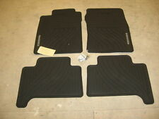 TOYOTA 4RUNNER 03-09 4-PC OEM FACTORY RUBBER ALL WEATHER FLOOR MATS