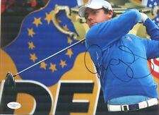 RORY MCILROY Signed 2010 Ryder Cup Signed 11x14 JSA