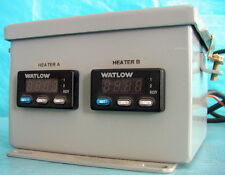 MKS Instruments Dual-Channel Temperature Controller w/ 2x Watlow 935A units