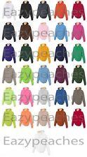 JERZEES NEW Mens Size S-4XL Nu Blend Hooded Sweatshirt Hoodie Jumper Top 996