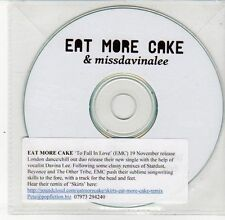 (DS574) Eat More Cake & Missdavinalee, To Fall In Love - DJ CD