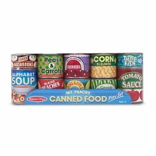 Melissa & Doug Let's Play House! Grocery Cans (item #4088)