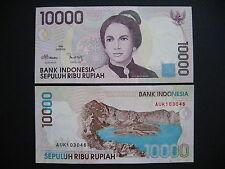 INDONESIA  10000 Rupiah 1998/2001  (P137d)  UNC